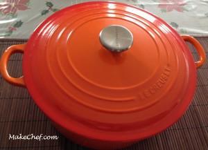 Le Creuset Cast Iron Round Casserole, 28 cm