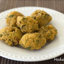 Split pea fritters recipe