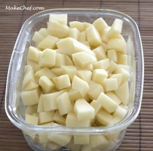 2 potatoes, diced potato