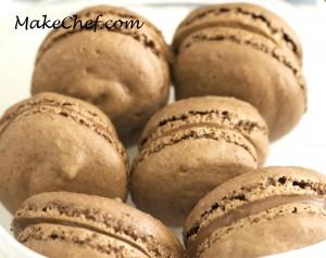macaroons chocolate