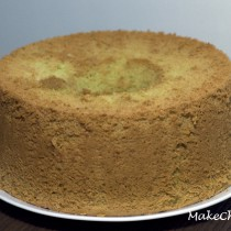 pandan chiffon cake (sponge cake)