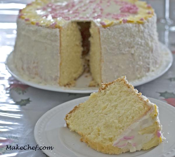 Lemon chiffon cake recipe from scratch