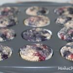 no added sugar multicolored muffin