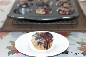 no added sugar multicolored muffin recipe